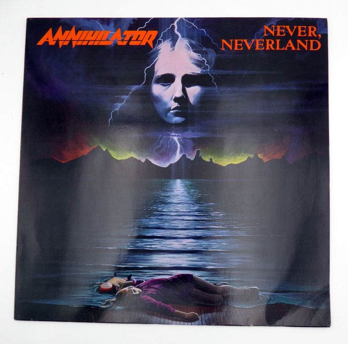 Annihilator -  Never, Neverland  - LP's - 1990/1990