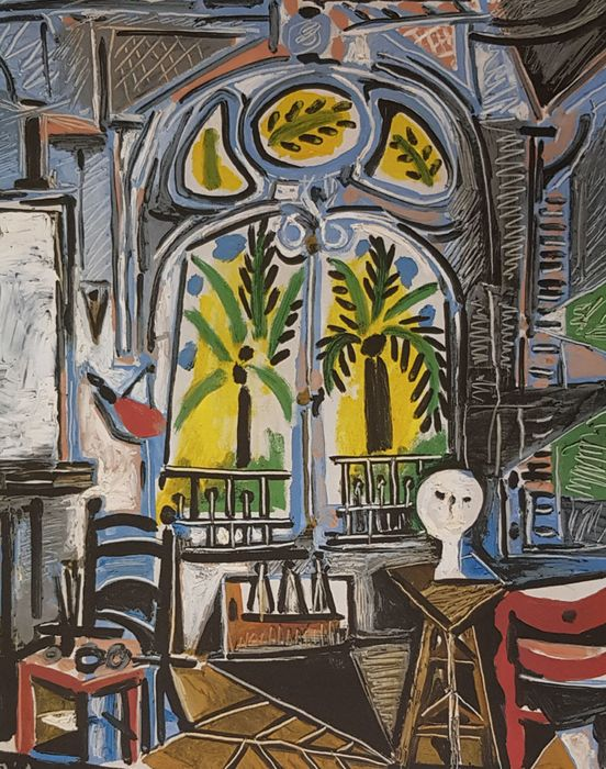 Pablo Picasso (after) - Le Atelier 1955