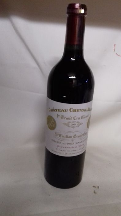 2004 Chat Cheval Blanc - Saint-Emilion 1er Grand Cru Classé A - 1 Bottiglie (0,75 L)