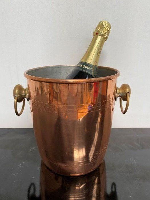Old champagne bucket