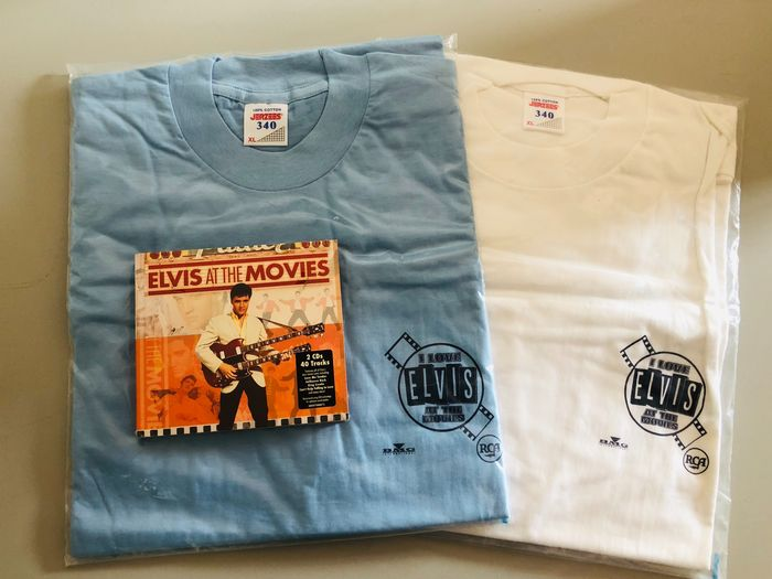 Elvis Presley - Elvis at the Movies (incl. 2 Promo T-shirts all still sealed) - CD - 2007/2007