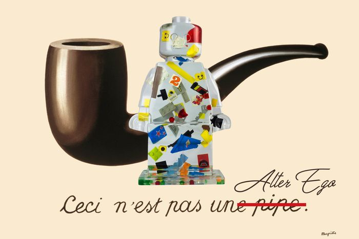 Alessandro Piano - Alter Ego Pipe - Lego Magritte