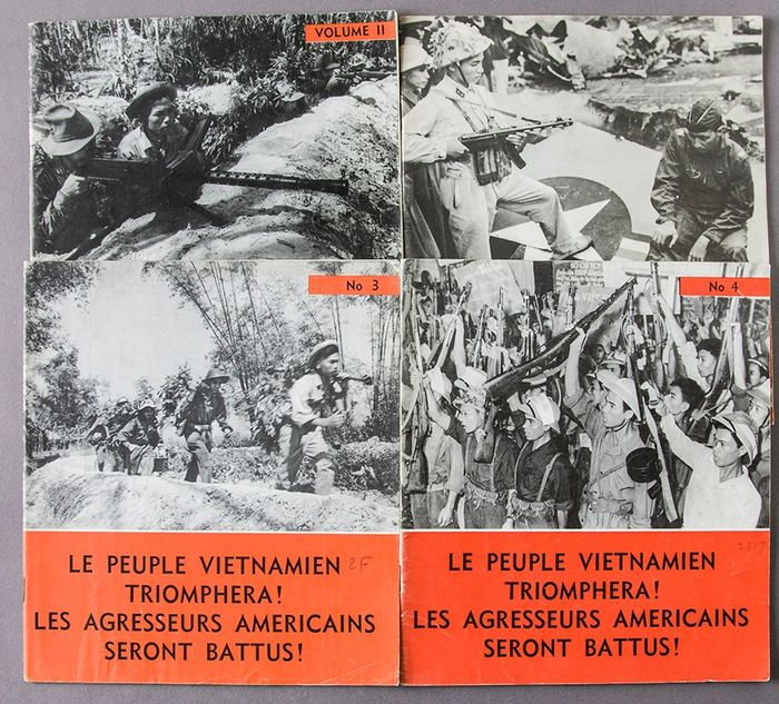 The People of Viet nam will triumph! U.S. aggressors will be defeated ! - 1965