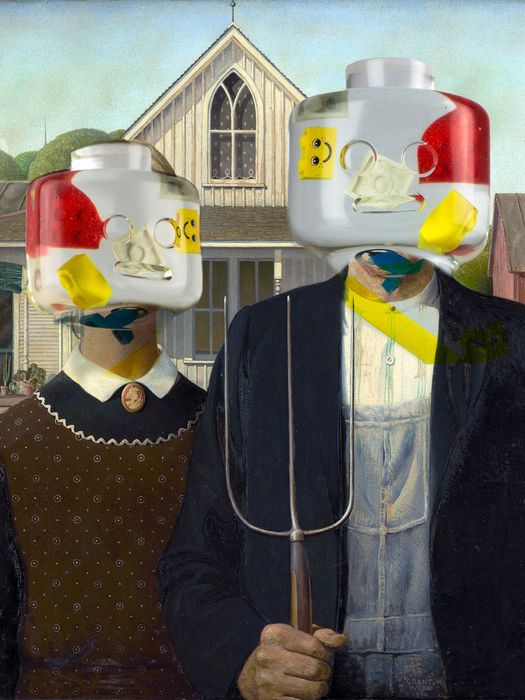 Alessandro Piano - Alter Ego Gothic - Lego Grant Wood American