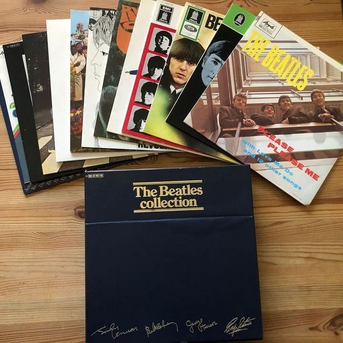 Beatles - The Beatles Collection - 14 LP Boxset *LPs mint* German Release - Multiple titles - Album LP - 1963/1971