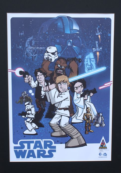 Star Wars - Artwork 30th Anniversary Print - Limited edition - Celebration IV Exclusive by Jake Art (152/250)
