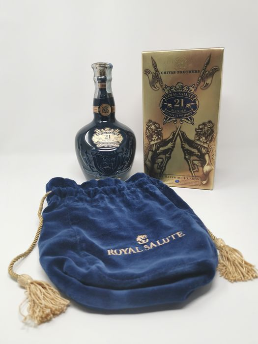 Chivas Regal 21 years old The Sapphire Flagon - 70cl