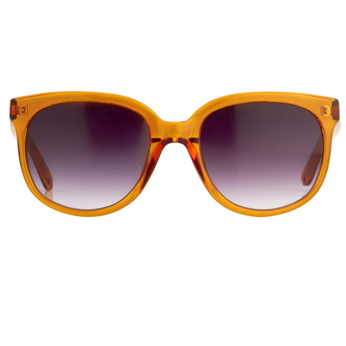 "Matthew Williamson - Oversized Caramel with Grey Lenses MW73C8SUN ""NO RESERVE PRICE"" Sunglasses"
