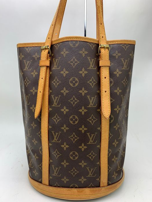 Louis Vuitton - VERY GOOD-M42236 GM Monogram Bucket Big Tote bag