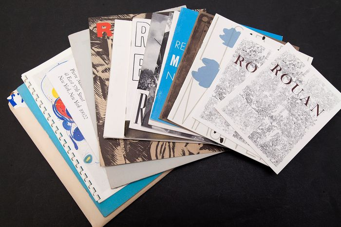 Pierre Matisse Gallery - Lot with 16 catalogues - 1959/1975