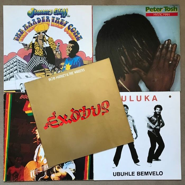 Bob Marley, Jimmy Cliff - Multiple artists - Peter Tosh, Juluka - Multiple titles - LP's - 1977/1982
