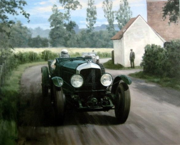 Cuadro/obra de arte - Bentley Speed 6 #4 Barnato/Kidston Winners Le Mans 1930
