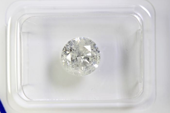 Diamond - 1.40 ct - Brilliant - I - I3 - * NO RESERVE PRICE *