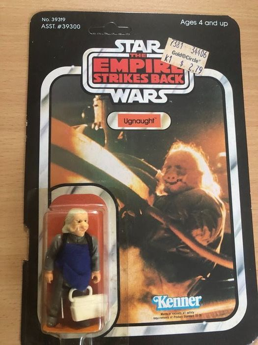Star Wars - The Empire Strikes Back - Vintage 1980  - Kenner - Action figure Ugnaught