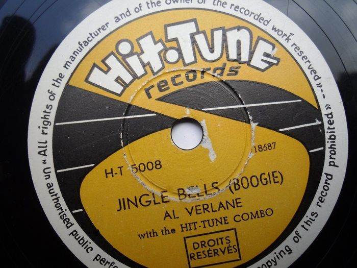 Jazz Swing Boogie Blues 78 toeren grammofoon platen rpm - Fonit - Victory - Decca - Hittune - Omega - Philips - Colombia - Brunswick - 78 tours/min - Gomme laque
