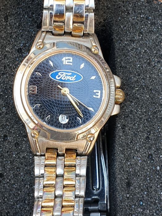 Watch - Official licensed gold tone - Ford USA - 1990-2000