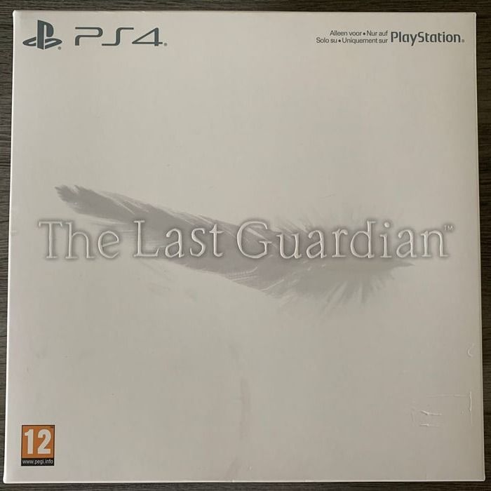 Sony The Last Guardian Collectors Edition. Playstation 4, PS4. - Videospel - Original i förseglad låda