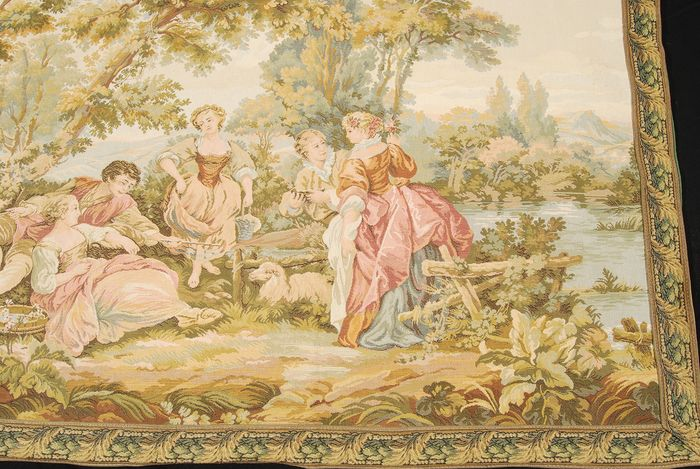 Classical tapestry - Late 20th century