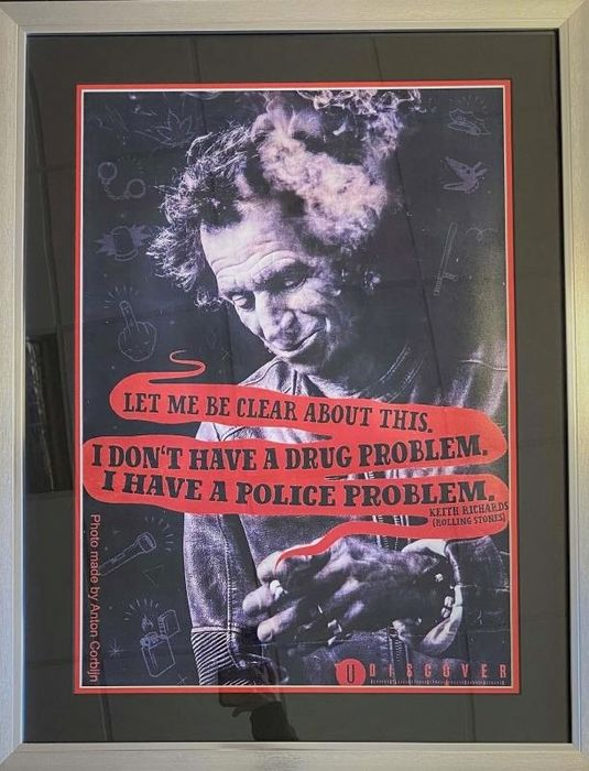 Keith Richards, Rolling Stones - Police Trouble - Multiple titles - Limited edition, Various media - 1990/2012
