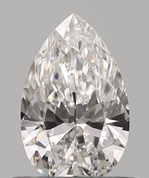 1 pcs Diamond - 0.51 ct - Pear - F - SI1