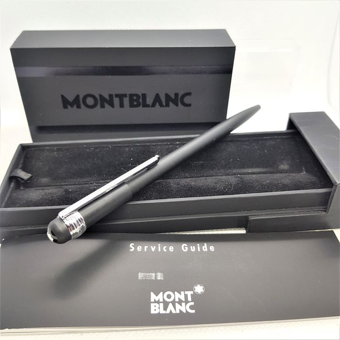 Montblanc - Scenium - Ballpoint pen - Box and papers