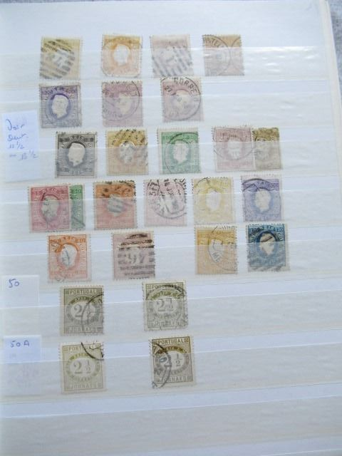 Portugal - Advanced collection of stamps including colony