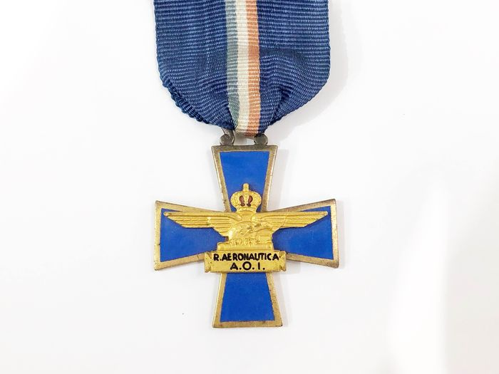 Italy - Fascism - Air Force Royal Cross in Africa