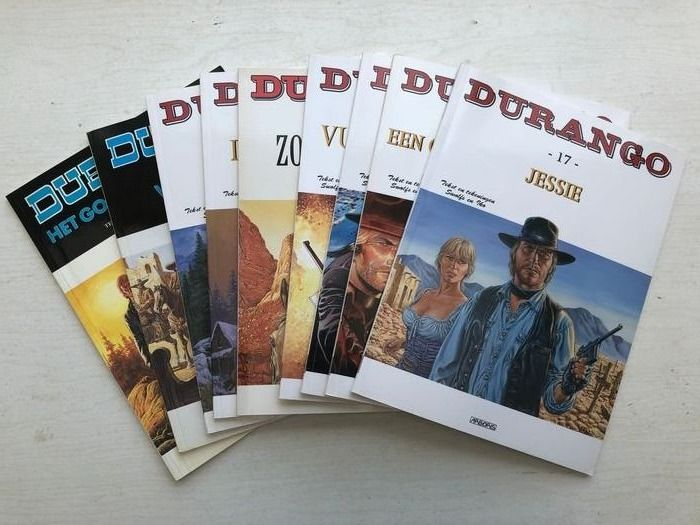 Durango 1 t/m 17 - Complete reeks - Softcover - Different editions - (1982/2016)