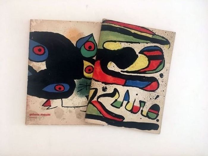 Joan Miro - Lot with 2 catalogues - 1975/1978
