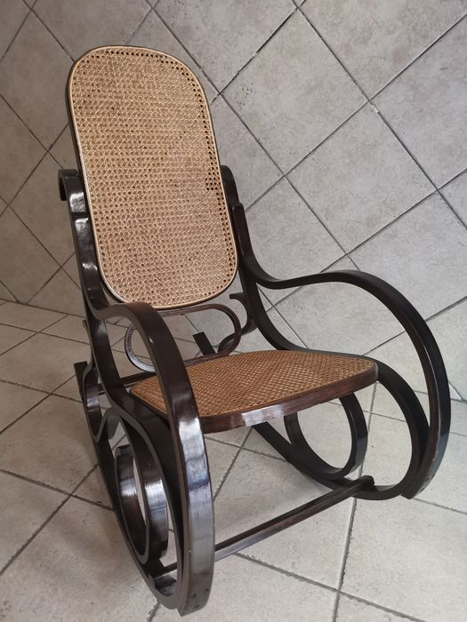 Bentwood rocking chair from the 70s - Wood