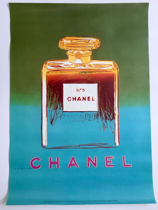Andy Warhol (after) - Chanel #5 - 1997 - Anni '80