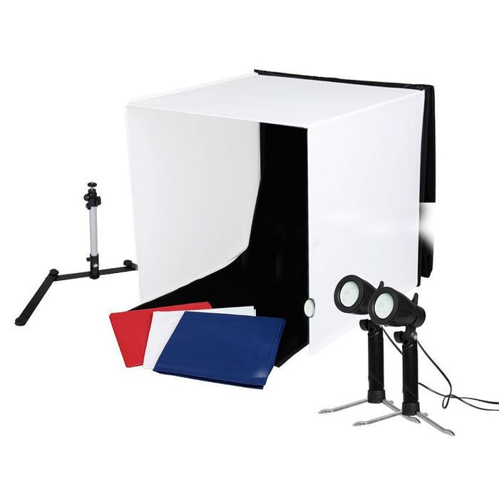 Caruba Portable Fotostudio Led Lights  40x40x40cm - (3490)