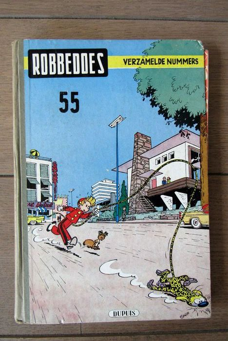 Robbedoes (magazine) - Album 55 - Hardcover - First edition - (1953)