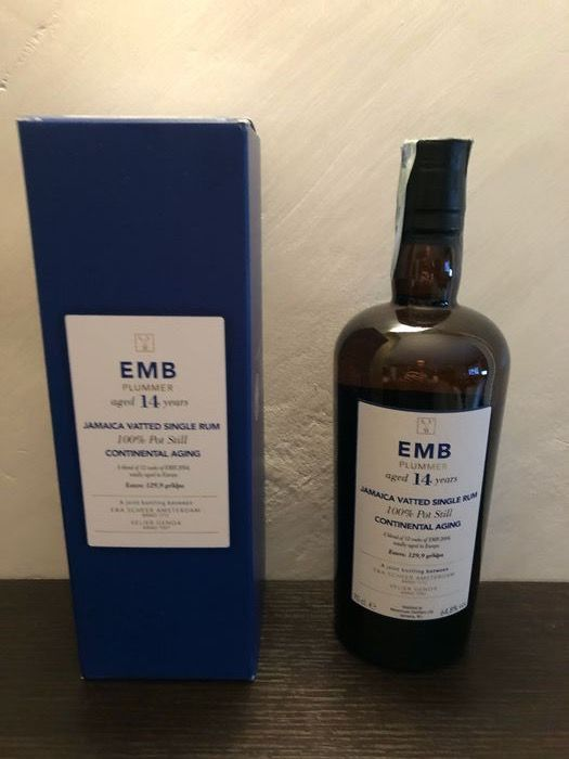 Monymusk 2004 14 years old Velier - EMB Continental Plummer - 70cl