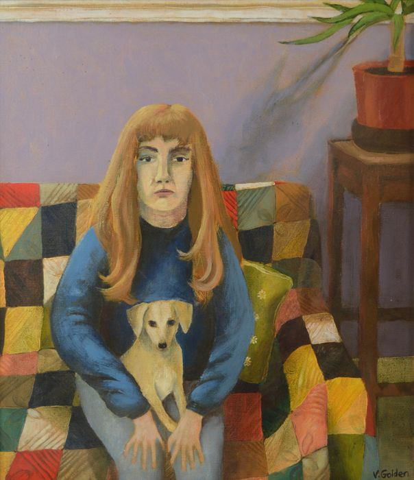 Vicky Golden (20th century) - A self portrait