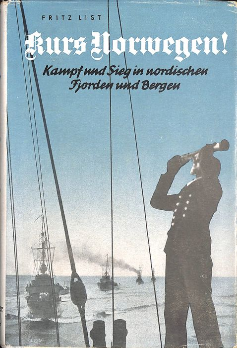Germany - Kriegsmarine course Norway - fight and victory in Nordic fjords - Wehrmacht - Book