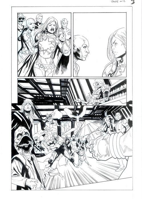 Guardians of the Galaxy by Geoff Shaw & Donny Cates 1 - Guardians of the Galaxy - Art original