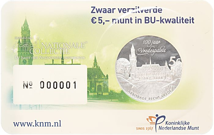 The Netherlands - 5 Euro 2013 Vredespaleis #000001