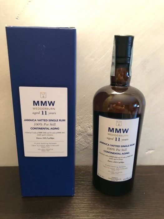 Monymusk 11 years old Velier - MMW Wedderburn Continental Aging - 70cl