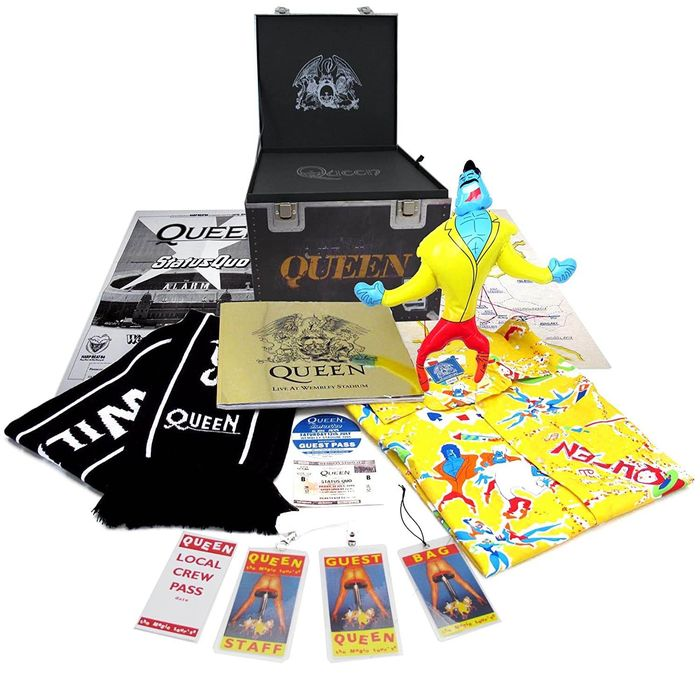 Queen - Live At Wembley Deluxe Box - Deluxe edition - 1986/2011