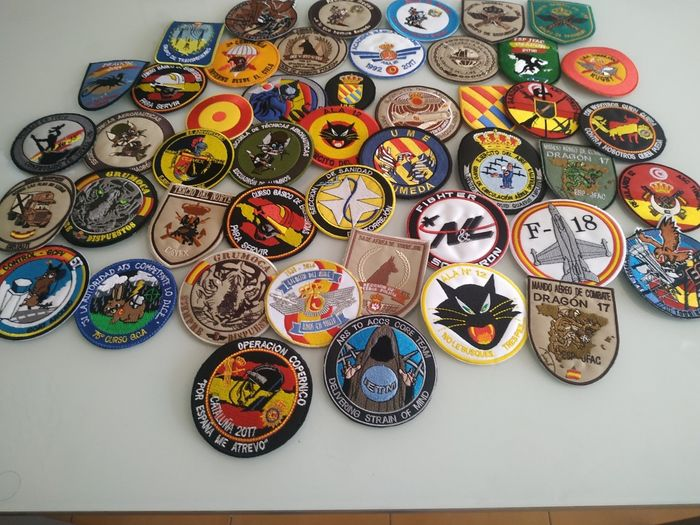 Spanje - Luchtmacht. - PATCH COLLECTIE