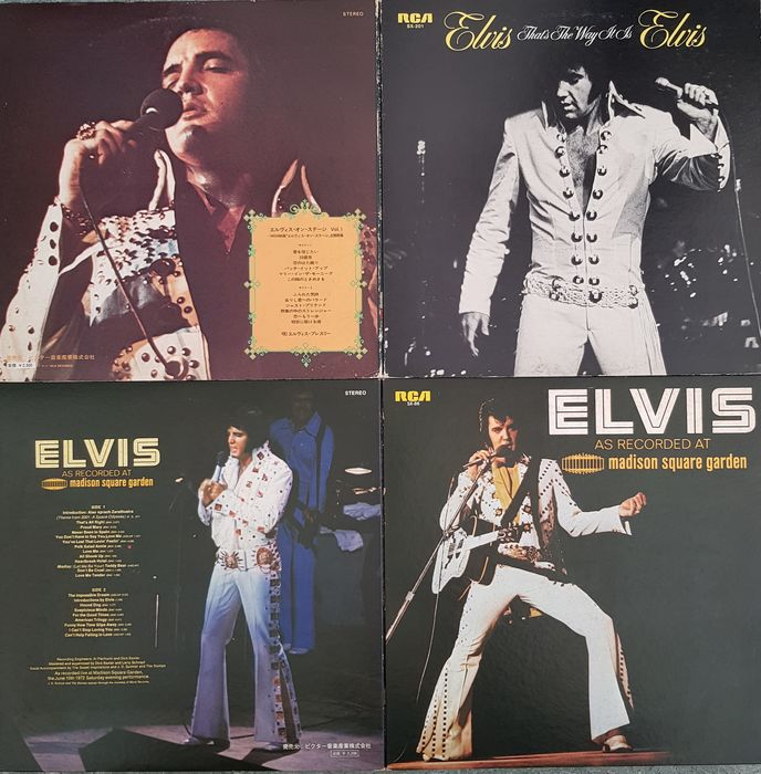Elvis Presley & Related - That s The Way It s & As Recorded At Madison Square Garden - Multiple titles - LP's - 1972/1972