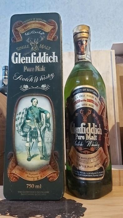 Glenfiddich Clan of Macpherson - Original bottling - b. 1980s - 75cl