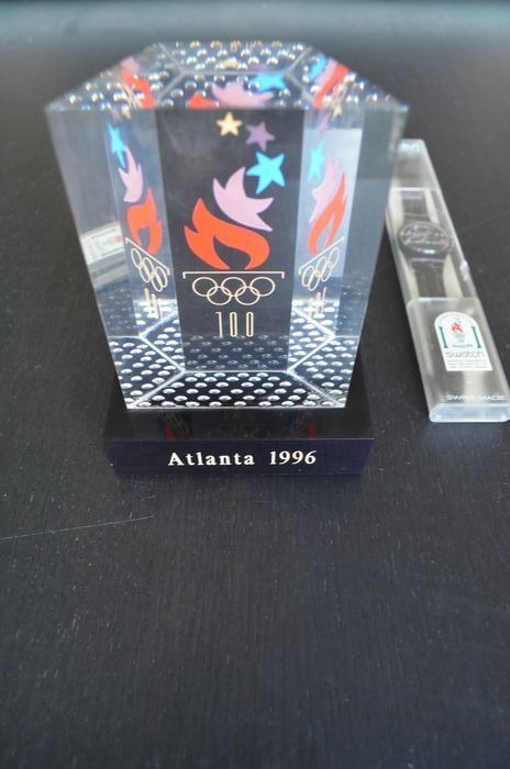 Olympic Games - 1996 - watch and statue