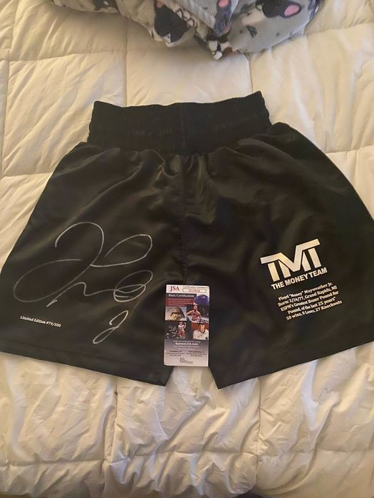 Boxing - Floyd Mayweather  - 2017 - Boxing trunk