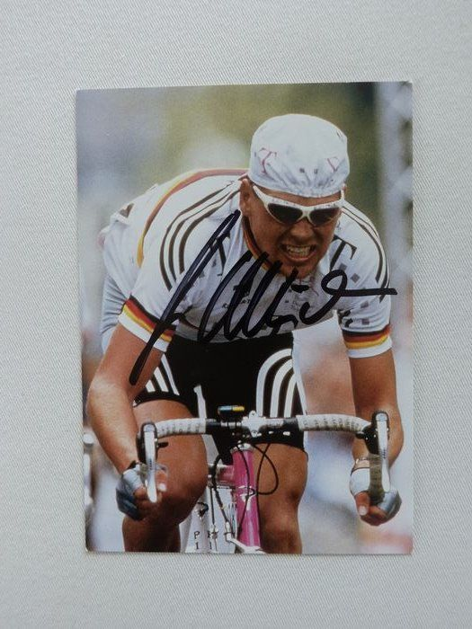 Cycling - Jan Ullrich - fan card