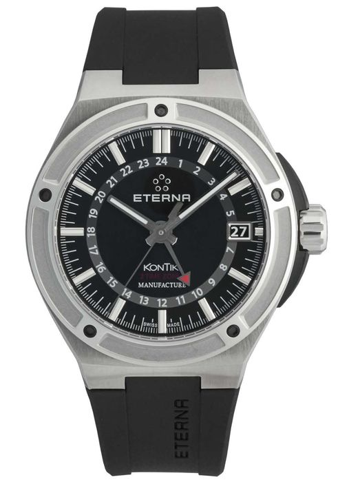 Eterna - Royal KonTiki GMT Manufactur - 7740.40.41.1289 - Heren - 2011-heden
