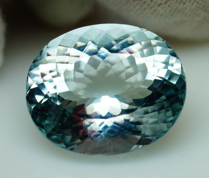Aquamarin - 23.77 ct