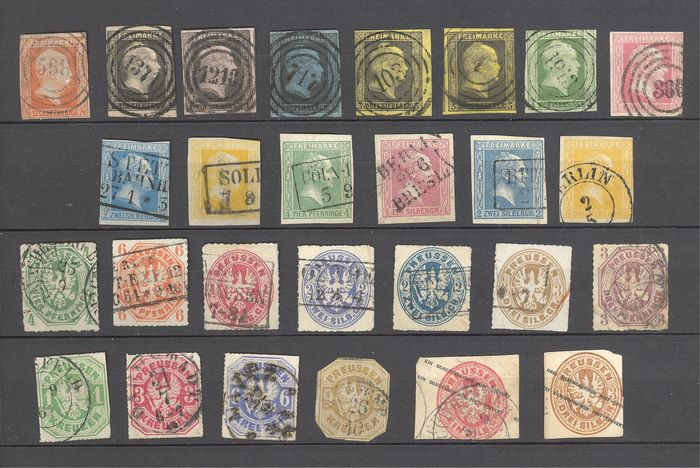 Prussia 1850/1867 - Prussia stamp collection