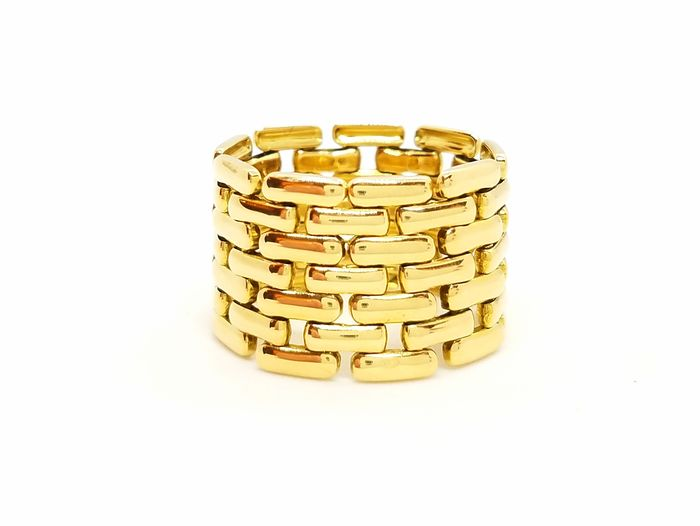 18 kts. Yellow gold - Ring